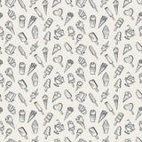 Ice cream background Stock Image