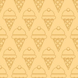 Ice cream background Stock Images