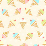 Ice cream background Royalty Free Stock Photos