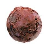Ice-cream ball Royalty Free Stock Photo