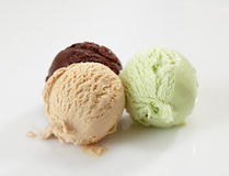Ice cream balls Stock Photos