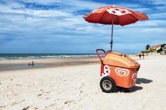 Ice cream on the beach Stock Photos