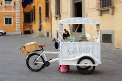 Ice cream bicycle Royalty Free Stock Photos