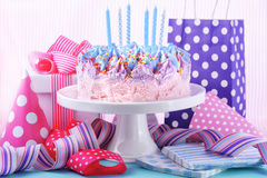 Ice Cream Birthday Cake Royalty Free Stock Images