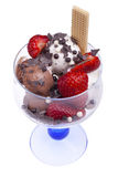 Ice Cream Bowl Stock Photo