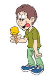 Ice cream boy Royalty Free Stock Image
