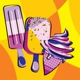 Ice-cream Stock Image