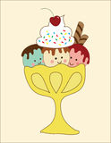Ice-Cream Buddies Stock Photos