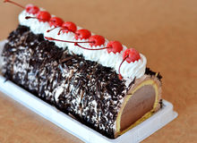 Ice cream cake Royalty Free Stock Photography