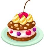 Ice cream cake Stock Photo