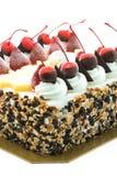 Ice cream cake with cherry on top Stock Photography