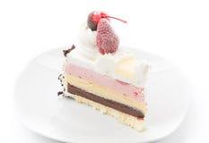 Ice-cream cake Royalty Free Stock Photo