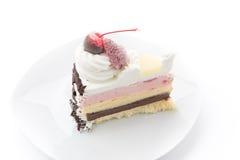 Ice-cream cake Stock Images