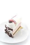 Ice-cream cake Royalty Free Stock Images