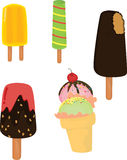 Ice cream candy Royalty Free Stock Photos