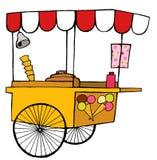 Ice cream car. Summer fun Royalty Free Stock Image