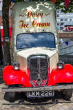 Ice cream car. Nice dayry ice cream car Royalty Free Stock Images