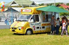 ICE cream car Royalty Free Stock Photo