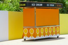 Ice cream cart Stock Photography