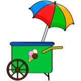 Ice cream cart Royalty Free Stock Photo