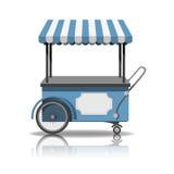 Ice cream cart Royalty Free Stock Photography