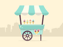 Ice Cream Cart Stock Photos