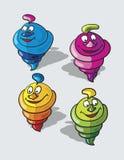 Ice cream cartoon Royalty Free Stock Photography