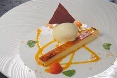 Ice-cream cheese cake Royalty Free Stock Image