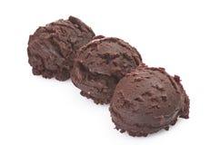 Ice cream chocolate Royalty Free Stock Image