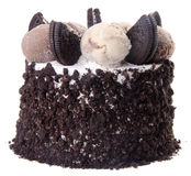 Ice cream. chocolate ice cream cake Royalty Free Stock Image