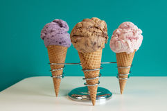 Ice cream Colors Royalty Free Stock Image
