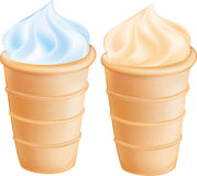Ice-cream cone Stock Photo