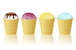 Ice-cream cone. Stock Images