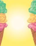 Ice Cream Cone Border Royalty Free Stock Image