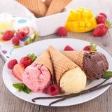 Ice cream cone Royalty Free Stock Photos