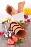 Ice cream cone Stock Photos