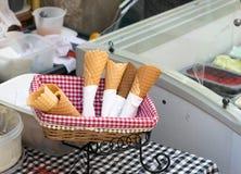 Ice Cream Cone Stock Photo