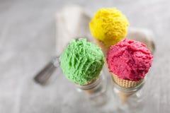 Ice cream cone Stock Photography