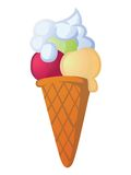 Ice cream cone Stock Image