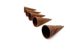 Ice Cream Cones Stock Photography