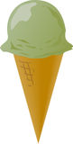 Ice cream cones Royalty Free Stock Photography