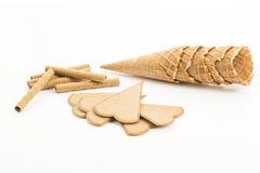 Ice-cream cones Royalty Free Stock Photos