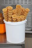 Ice cream cones Royalty Free Stock Images