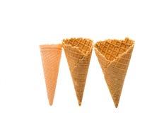 Ice Cream Cones Royalty Free Stock Images