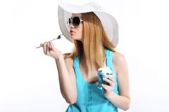 Ice cream cups Stock Photos