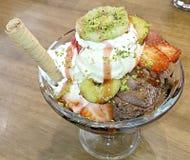 Ice cream delight Royalty Free Stock Photo