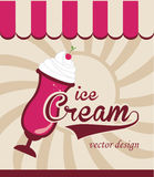 Ice cream design Stock Image