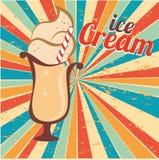 Ice cream design Stock Photos
