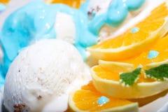 Ice cream dessert Royalty Free Stock Photos