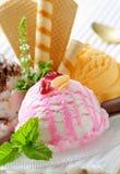 Ice cream dessert Stock Photos